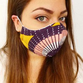 Masque réutilisable pour adulte (plusieurs coloris )