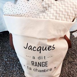 Grand sac de rangement Jacques
