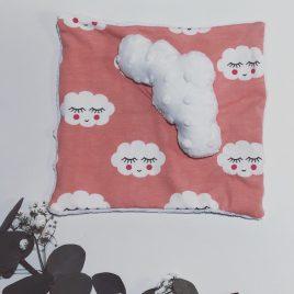 Doudou nuage rose