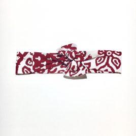 Bandeau Ethnique rouge