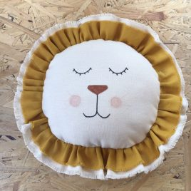 Coussin musical lion